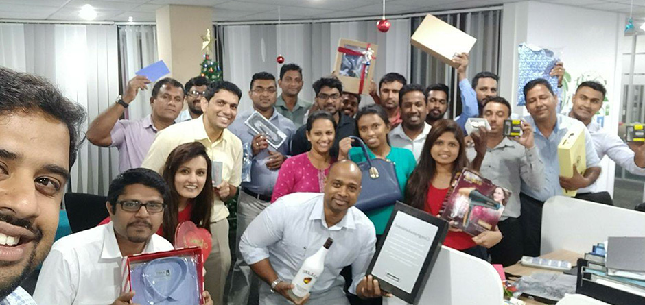 Christmas celebrations at our office